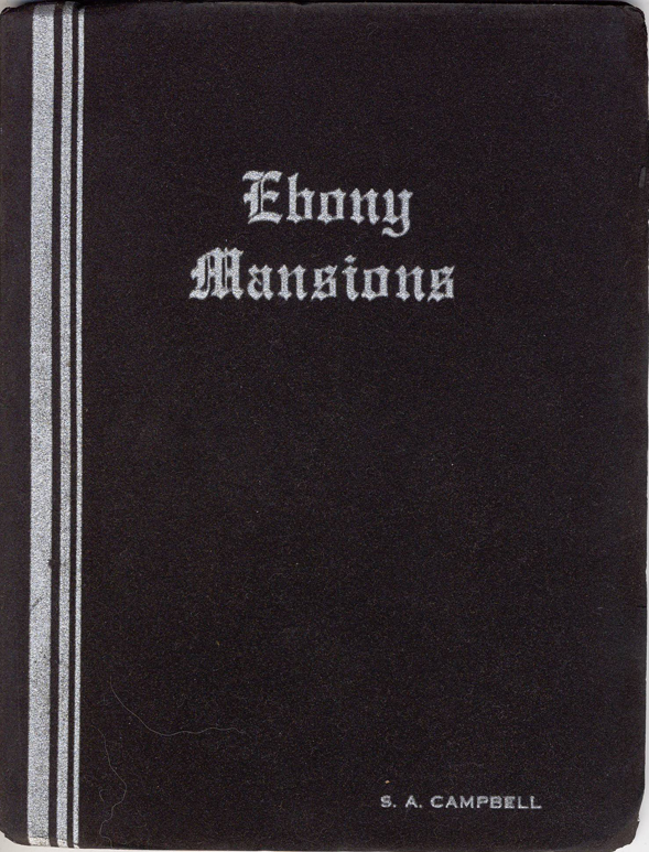 Ebony Mansions - Cover