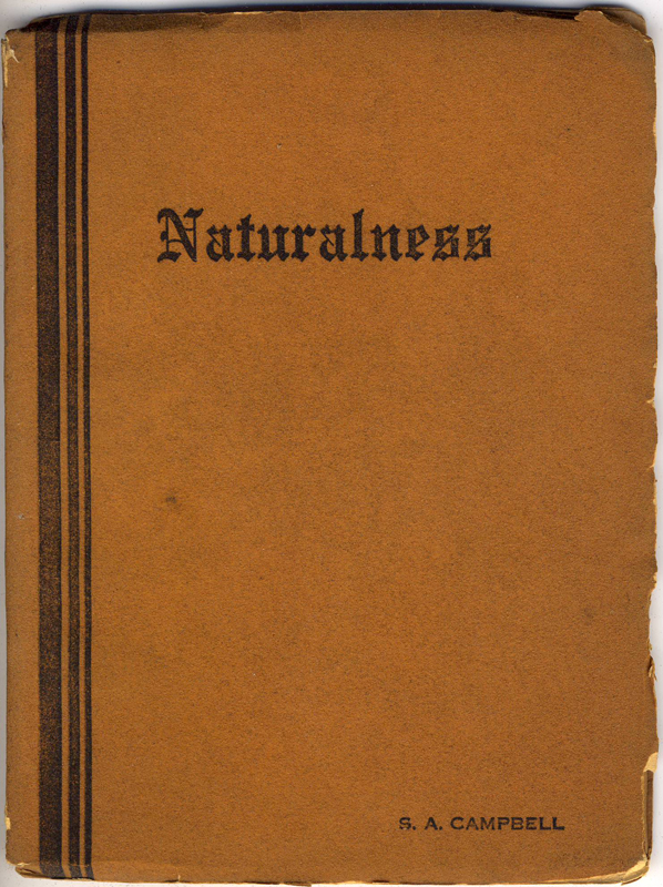 Naturalness - Cover