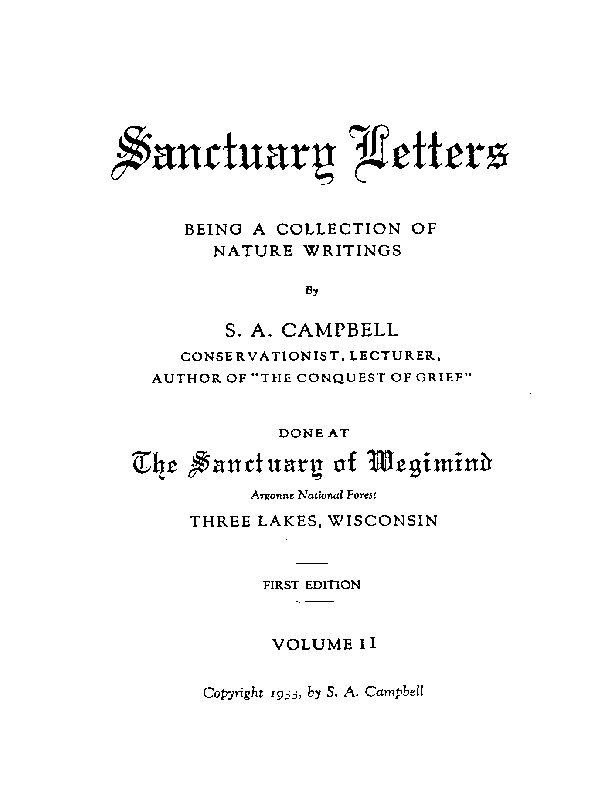 The Finding of Vanishing Lake - Title Page